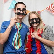 Romantic Love theme photo booth props for Valentine's Day wedding party decoration
