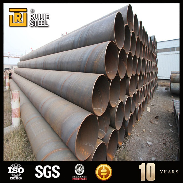 API 5L SSAW welded spiral steel pipe API 5L, oil & gas project
