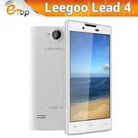 "Original 4.0"" Android 4.2.2 MTK6572 Dual Core 1.0GHz RAM 512MB ROM 4GB Quad Band WCDMA GPS Smart Cell Phone LEAGOO Lead 4"