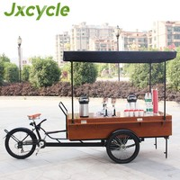 New coffee tricycle Electric fast food Coffee Trike