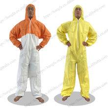 microporous / SMS disposable safety protective antistatic coverall for industry