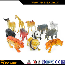 Wholesale Plastic Wild Animal Toy Custom 3D Animal Models High Quality Birthdy Gift