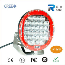 ARB style red 9'' LED work light offroad 96w LED work lamp 4x4 96w LED work light