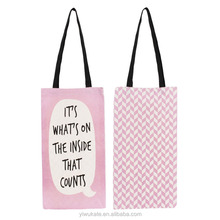 Best Sale Fashion Custom Printed Cheap Cotton Canvas Shopping Tote Bag with logo KB309