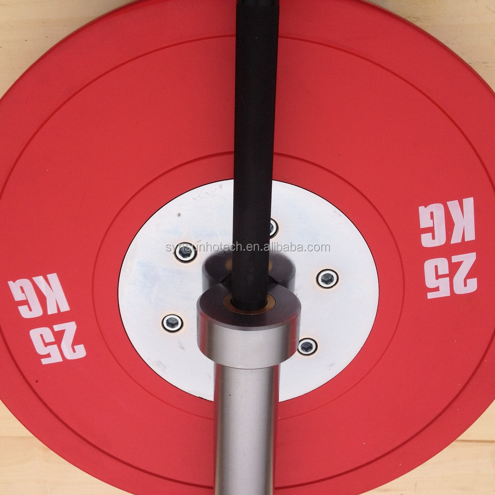 crossfit equipments /competition bumper plates /weightlifting barbell