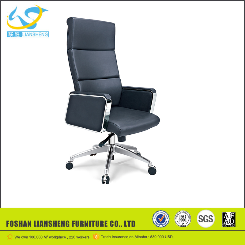 2017 Fashionable executive chair,Black manager chair, modern leather office chair