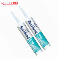 Fast curing neutral waterproof caulking glass silicone sealant