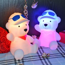 bear,dog,cat,elephant,dolphin,hedgehog night light for kids or children child