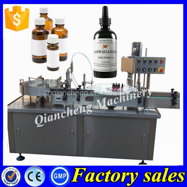 Low price tincture filling machine,monoblock bottle filler