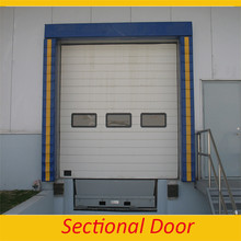 Sectional Overhead Doors used exterior doors for sale