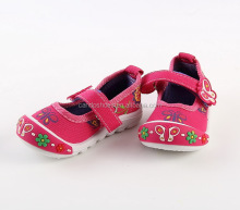 woolen baby shoes with flower baby shoe
