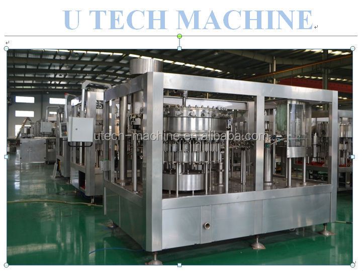 mini bottling plant / small carbonated drink filling machine