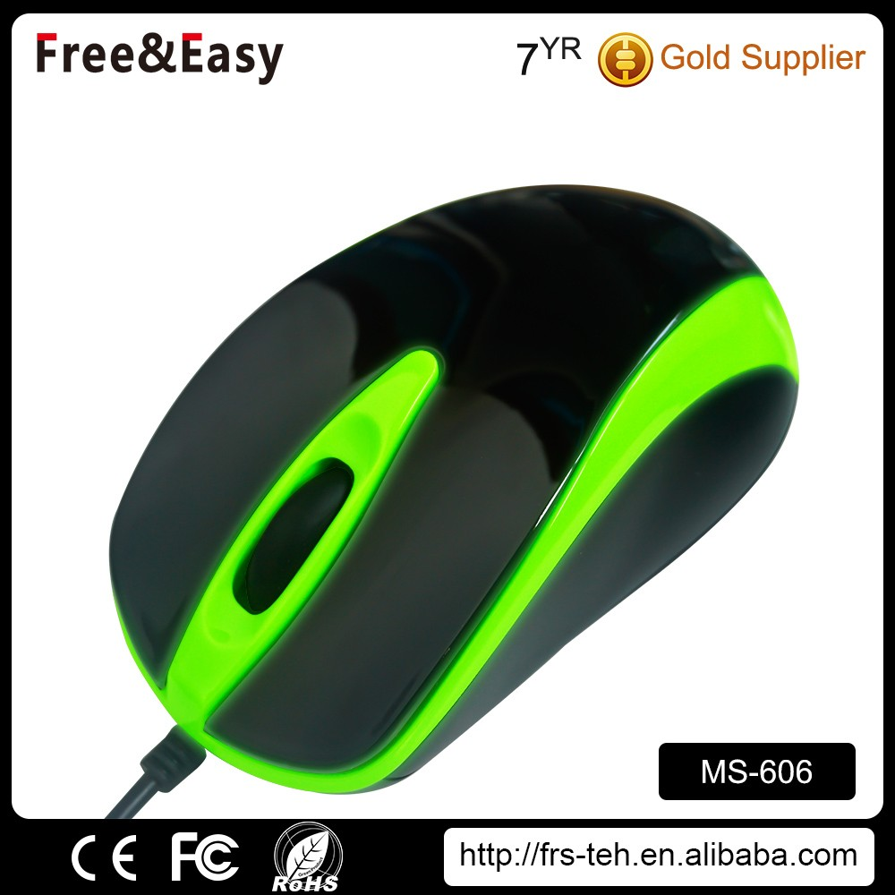 cheap 3d optical wired mouse