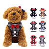 Fashion Breathable Mesh Padded Bowknot Puppy Pet Leash Small Dog Harness