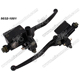 Wholesale motorcycle parts disc brake pump upper for CA250. motorcycle handle switch assembly
