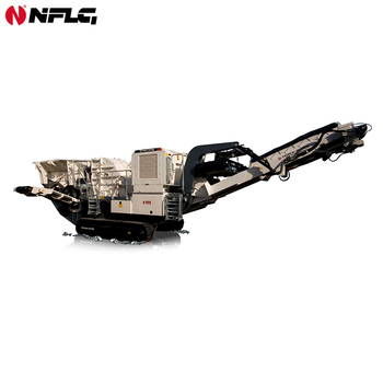 High accuracy easy maintenance portable stone crusher plant with low price