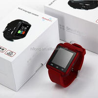 U8 Smart Bluetooth Watch with Pedometer for Sports