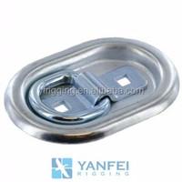 1200 lbs Trailer Gocart Flush Mount lashing D-ring from China