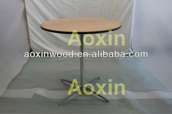 Knock Down Pedestal Table
