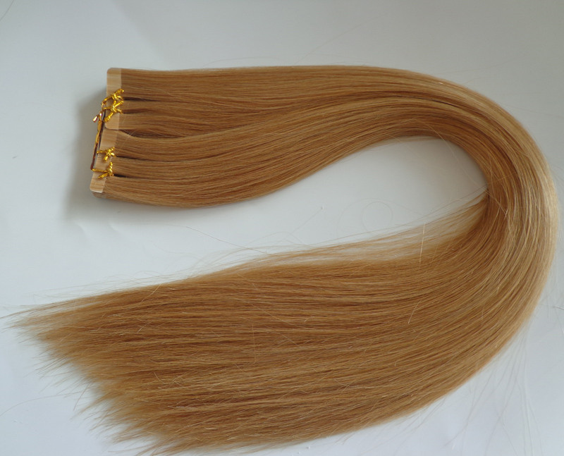 New products cheap virgin human hair tape hair extension /skin weft with top grade