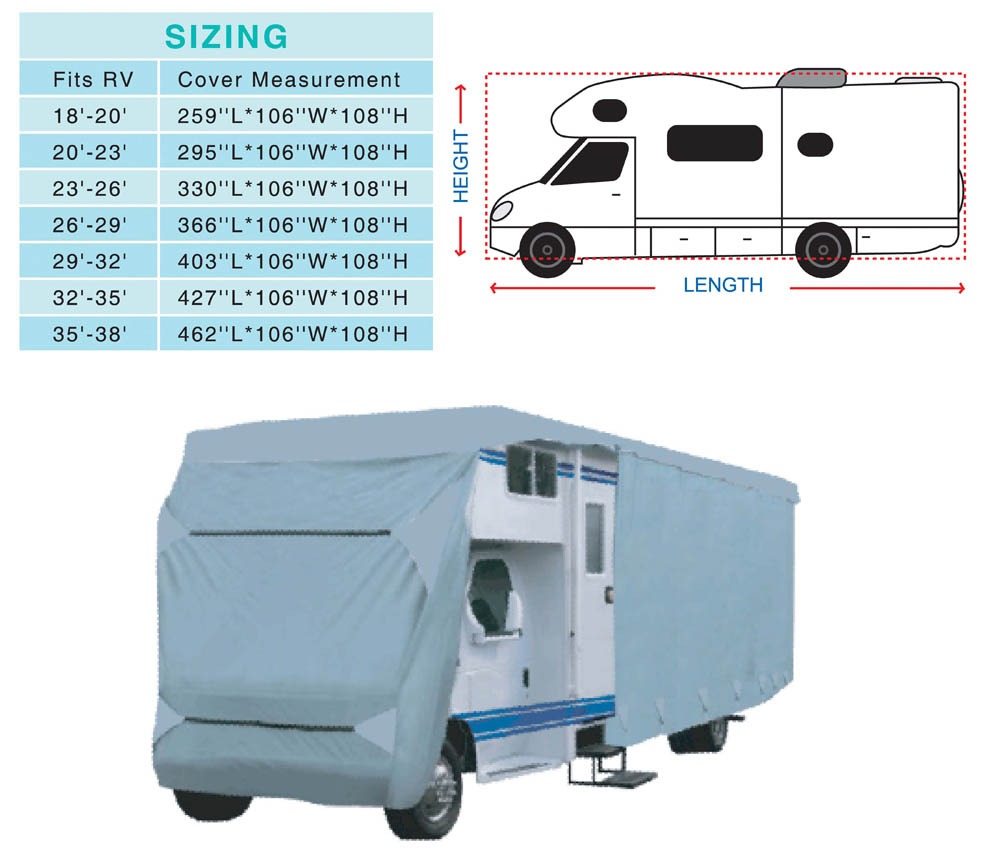 class C Caravan Cover/RV Cover/Motorhome Cover