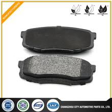 Hot selling semi metallic brake pads for toyota coaster made in China