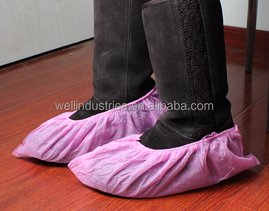 high quality disposable CPE/ PE shoe cover