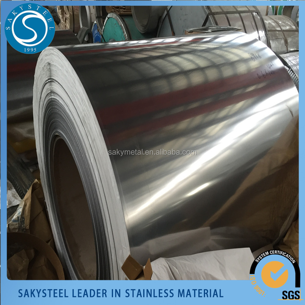 High quality SUS 430 BA stainless steel strip