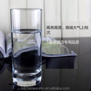 2016 Haonai well selling glass products,water glass cup