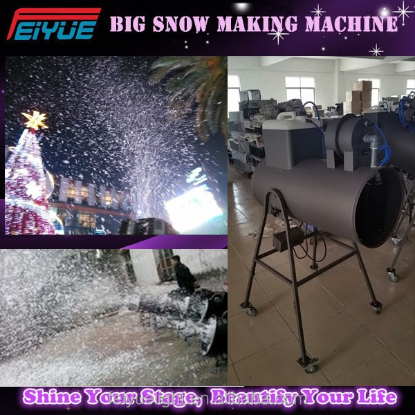 Stage Effect Equipment Big Snow Making Machine