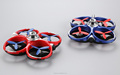 DUAL-PLAY WIFI CONTROL R/C BATTLE QUADCOPTER TOYS WITH INFRARED LASER GUN