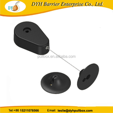 Boomerang for security display, pull box recoiler with L alley key accessory