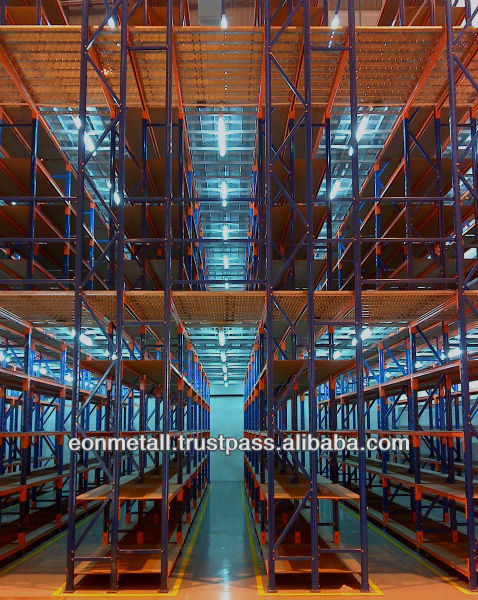 Pallet Rack Supported Mezzanine Floor