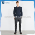 wholesale long sleeve super soft 100% cotton mens polo shirt design