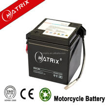 Motorybike usage 6v 4ah maintenance free lead acid battery
