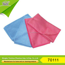 High-absorption microfiber polishing cloth