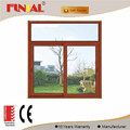 20mm thickness bullet-proof tempered glass sliding window