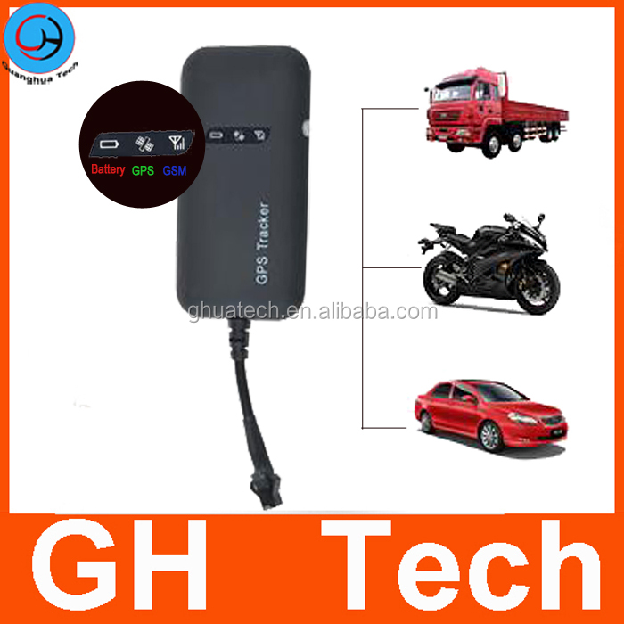 GH Accurate Vehicle Tracker Manual Gps Gsm Gprs Tracker with Vehicle Tracking System G-T002