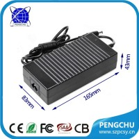 Single output type 150w constant current power supply 24v 6.25a led driver