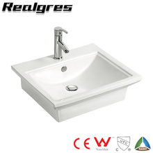 Stainless Steel Ceramic Bathroom Small Hand Wash Basin