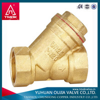 CE approved brass basket type strainer