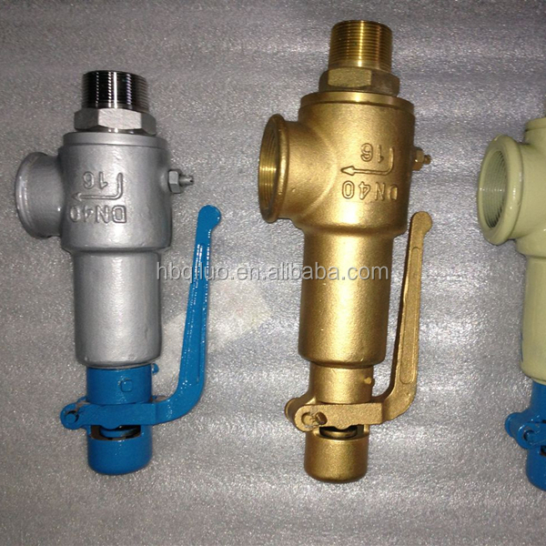 Hot sale factory price double spring loaded safety high air pressure reducing valve