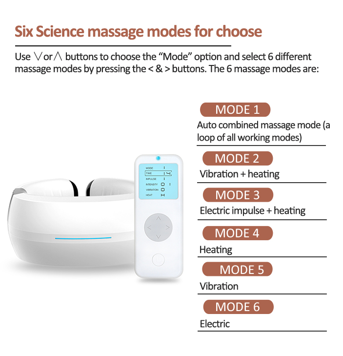 China Supplier private label Eleactric Neck Massager with Heat