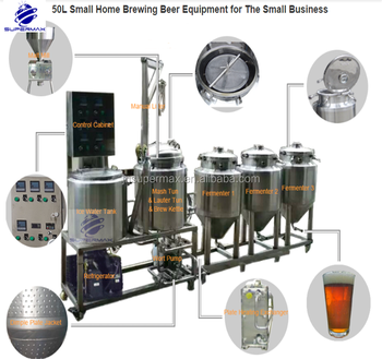 1BBL Micro home beer brewing kits for beer brewing with CE,ODM OEM