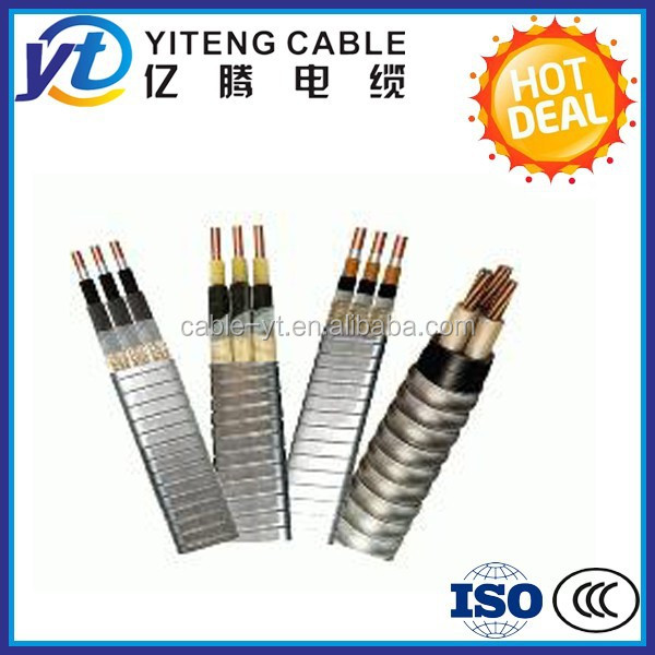 ESP EPDM submersible deep well pump power cable AWG standard
