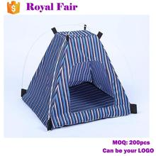 Home Outdoor Striated Comfortable Pet Bag Tent Houses