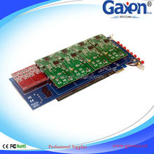 Analog PCIE GSM Card For PBX SIM Card, 8 GSM Channels Asterisk PCIE GSM Card