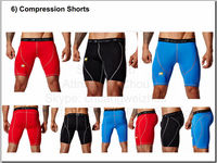 Customized mens compression shorts cheap compression shorts
