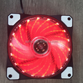 low noise 120x120mm dc 12v axial fan with led for computer