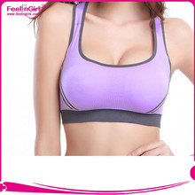 Big Stock Girl Sport Seamless Hot Sex Women's Yoga Sports Bra